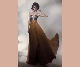 שמלת ערב מבריקה