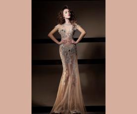 שמלת ערב הוט קוטור