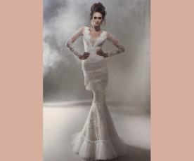 שמלת כלה קומות פרנזים בת ים