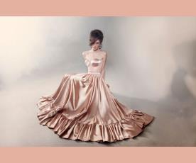 שמלת ערב וינטג' מלמלה