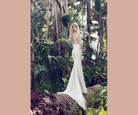 שמלת כלה שרוולים וחצאית קלאסית