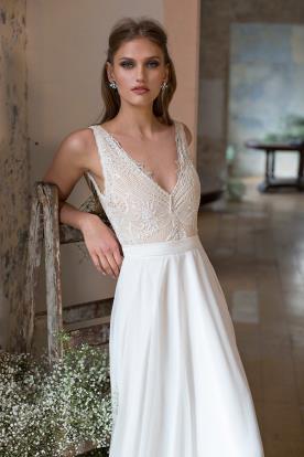 שמלת כלה עדינה למראה מושלם