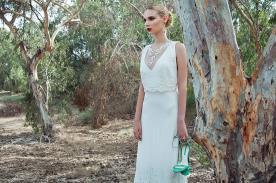 שמלת כלה ללוק רומנטי