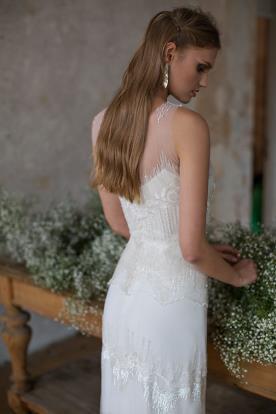 שמלת כלה עדינה למראה טהור