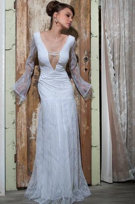 שמלת כלה חורפית למראה מרגש