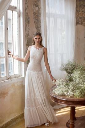 שמלת כלה אלגנטית אידיאלית לקיץ