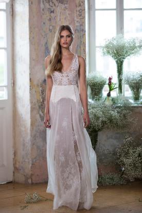 שמלה אידיאלית לכלה הרומנטית