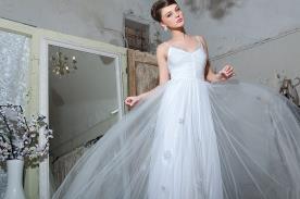 שמלת כלה רומנטית למראה מרגש
