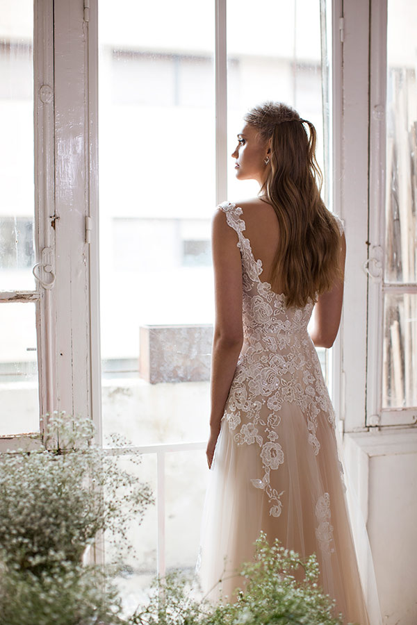 שמלת כלה רומנטית ללוק שמימי