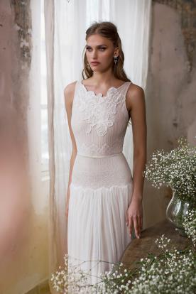 שמלת כלה מחמיאה למראה אלגנטי