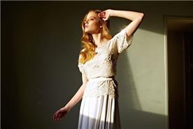 שמלה בתפירה עילית