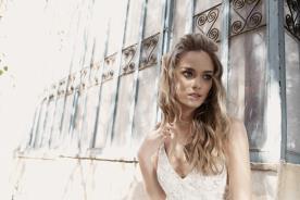 שמלת כלה רומנטית עשויה תחרה