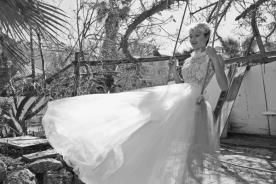 שמלת כלה רומנטית ייחודית