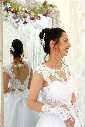 שמלה ערב עם נצנצים