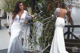 שמלת כלה חורפית למראה מושלם