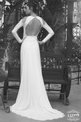 שמלת כלה חורפית עדינה למראה מושלם
