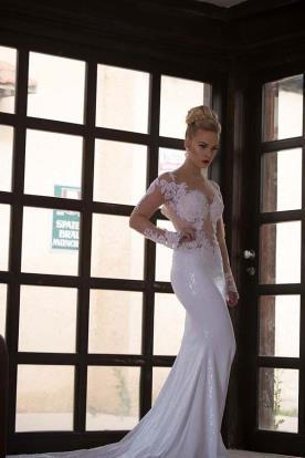 שמלת כלה תחרה ללוק מושלם