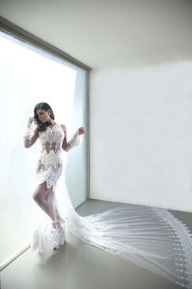 שמלת כלה חושנית למראה נשי
