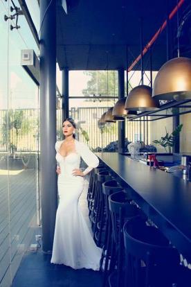 שמלת כלה שיפון קלאסית