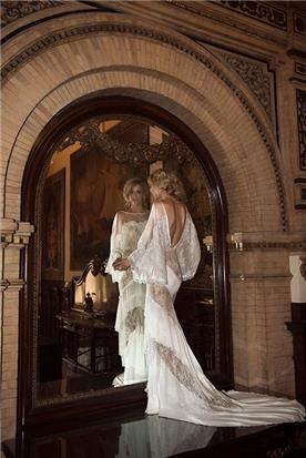 שמלת כלה עם שרוול