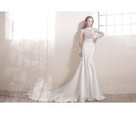 שמלת כלה למראה אלגנטי חורפי