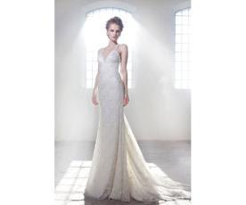 שמלת כלה קלילה למראה קייצי