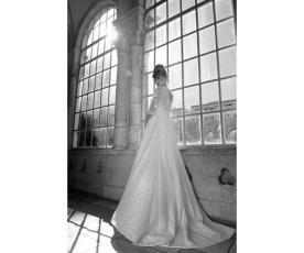 שמלת כלה צנועה חצאית רחבה