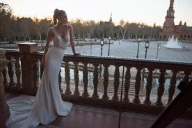 שמלת כלה למראה רומנטי קייצי