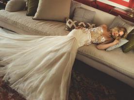 שמלת כלה הוט קוטור עם מחוך