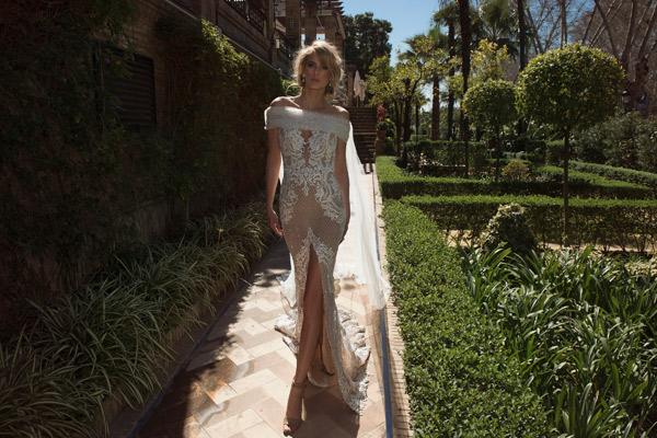 שמלת כלה קלאסית עם טאץ מודרני