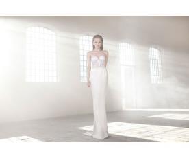 שמלת כלה סטרפלס בסגנון הוליוודי