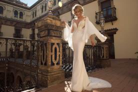 שמלת כלה רומנטית בסגנון זוהר הוליוודי