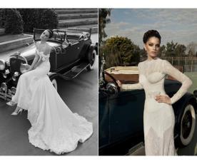 שמלות כלה רומנטיות למראה עדין