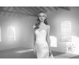 שמלת כלה למראה קייצי אלגנטי