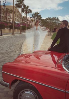שמלת כלה קסומה למראה אלגנטי