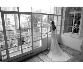 שמלת כלה מרשימה בסגנון וינטאג'