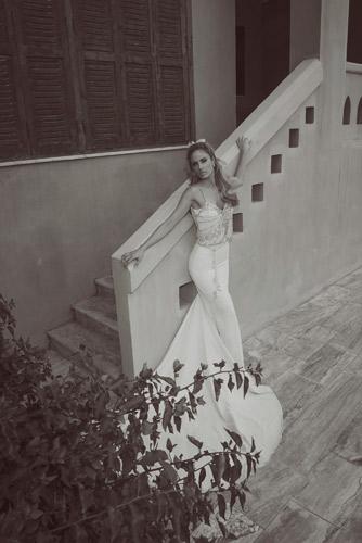 שמלת כלה חרוזים למראה נוצץ