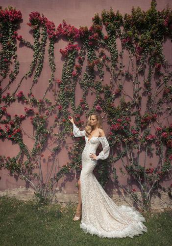 שמלת כלה חורפית בסגנון רומנטי