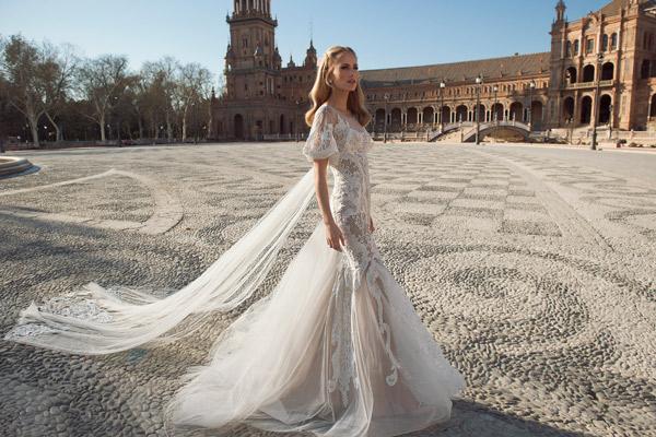 שמלה מודרנית לכלה הרומנטית
