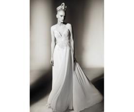 שמלת שיפון רומנטית לכלה