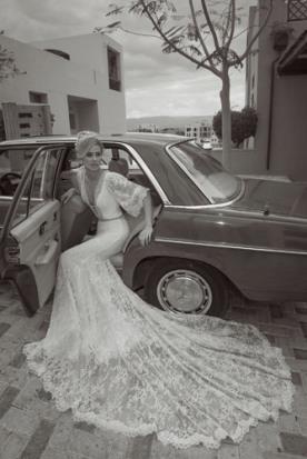 שמלת כלה בוהו שיק כפרית