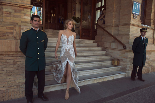 שמלת ניוד מרשימה לכלה