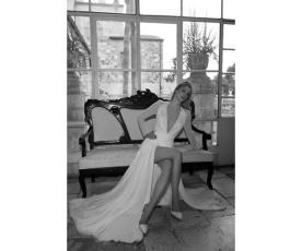שמלת כלה חורפית למראה הוליוודי