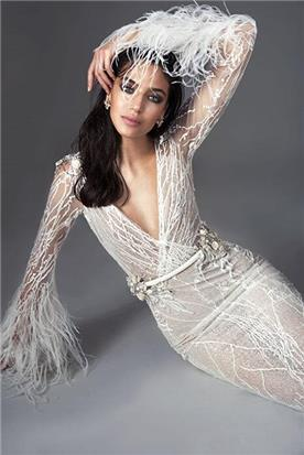 שמלה כלה מעוצבת