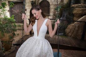 שמלת מיני רומנטית לכלה
