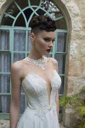 שמלת כלה בסגנון ייחודי רומנטי