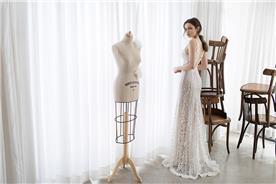 שמלת תחרה במראה ניוד