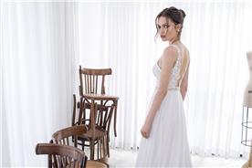 שמלת כלה מבד איכותי