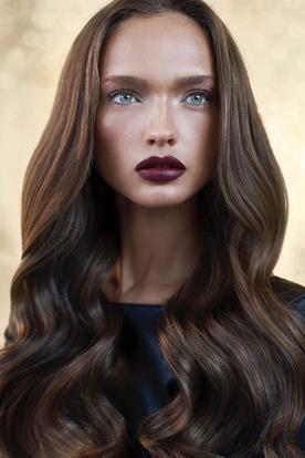 שיער מעוצב למראה זוהר