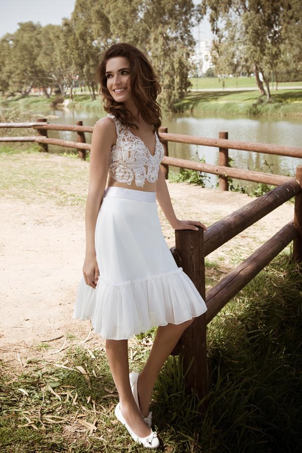 שמלת כלה עד הברך